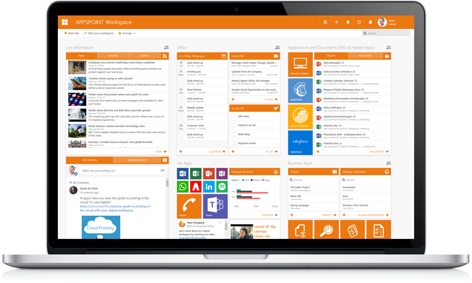 APPSPOINT Workspace – 6YS